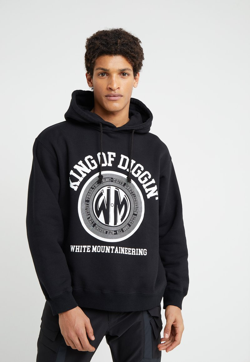 White Mountaineering - BIG HOODIEKING - Luvtröja - black