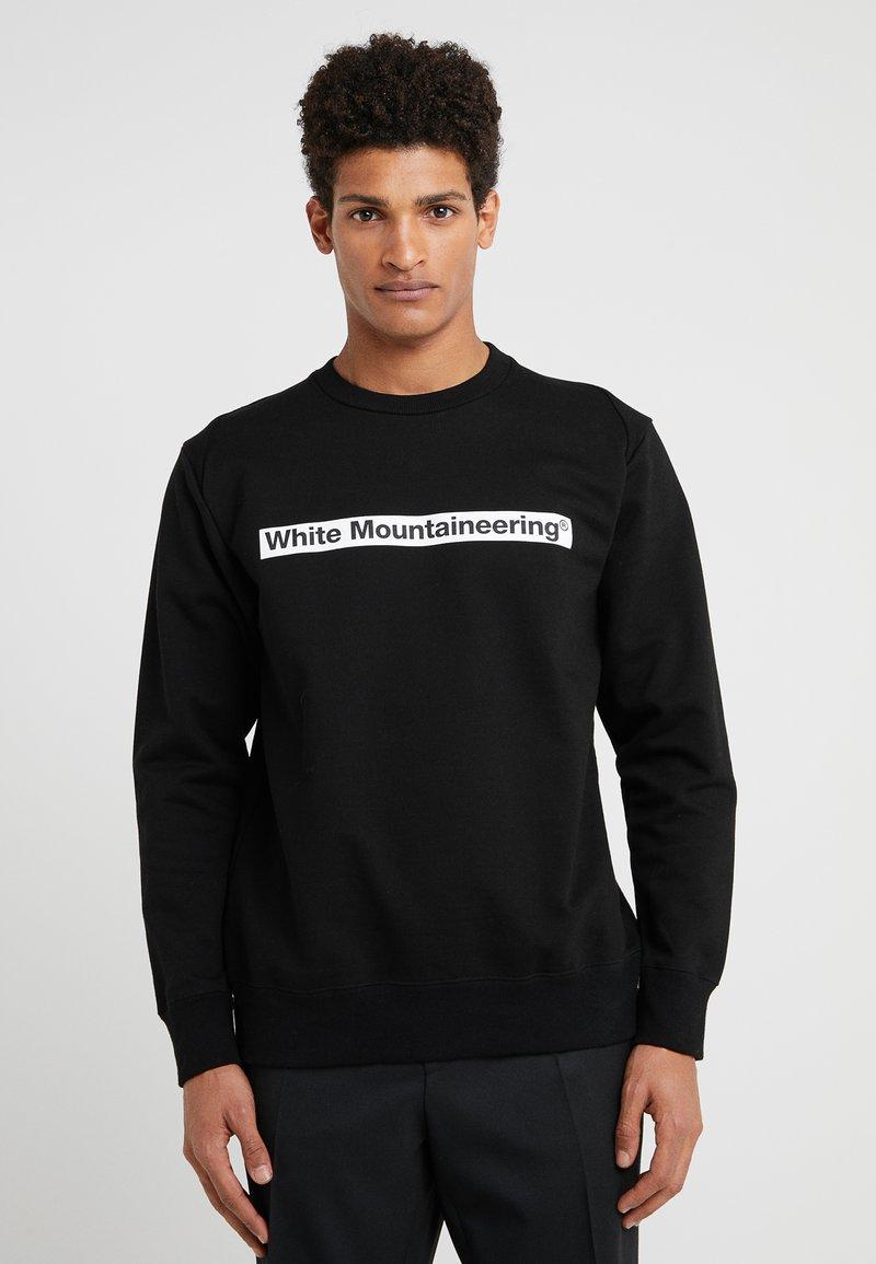 White Mountaineering - LOGO PRINTED - Sweatshirt - black