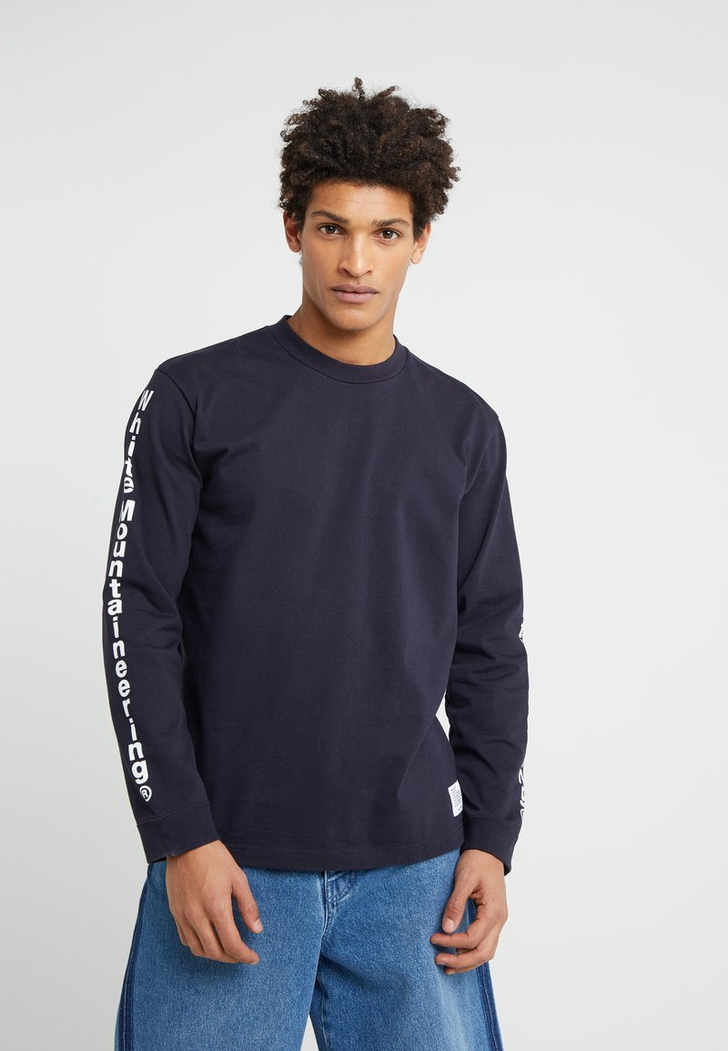 White Mountaineering - Long sleeved top - navy