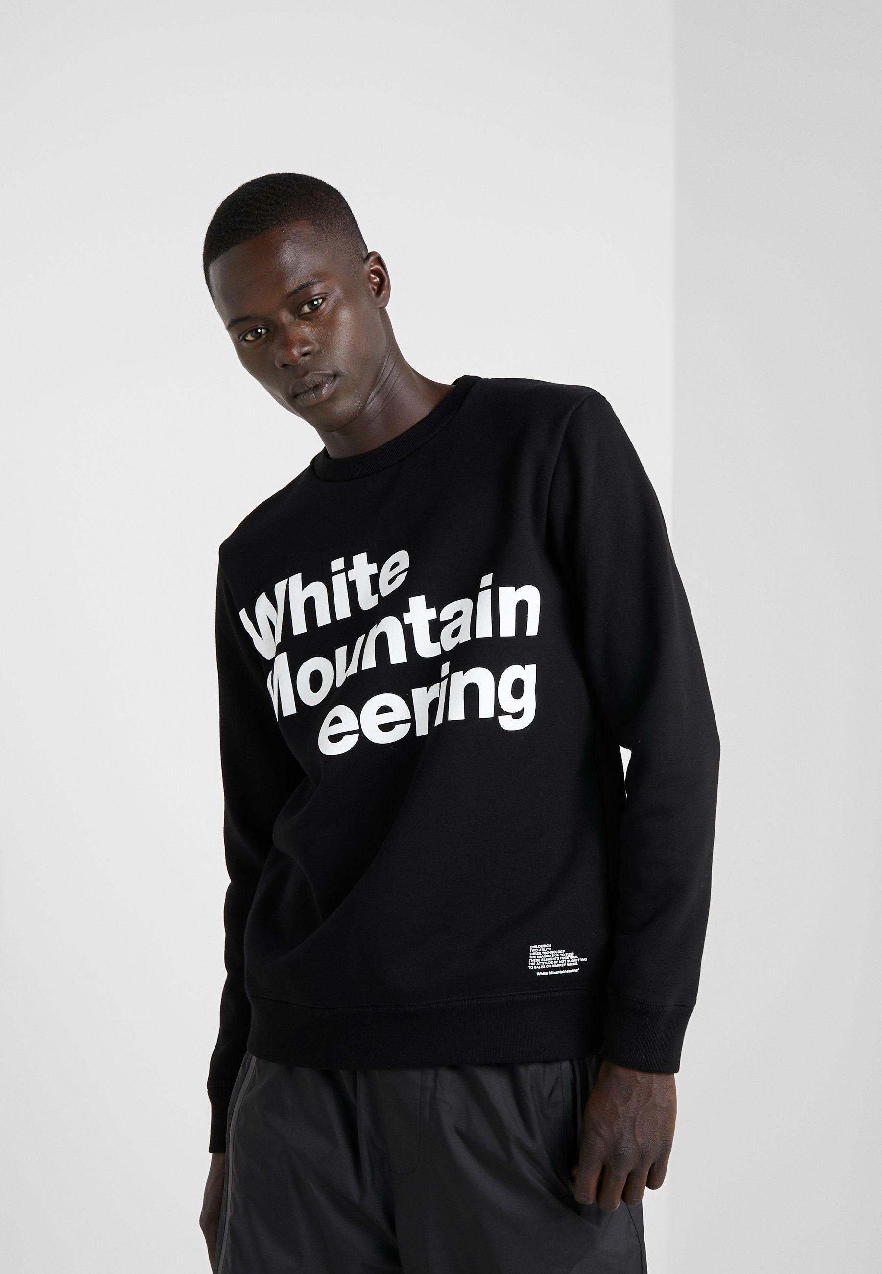 Mountaineering Black LogoSweatshirt Black LogoSweatshirt White LogoSweatshirt White White Black Mountaineering Mountaineering l1F3cTuKJ
