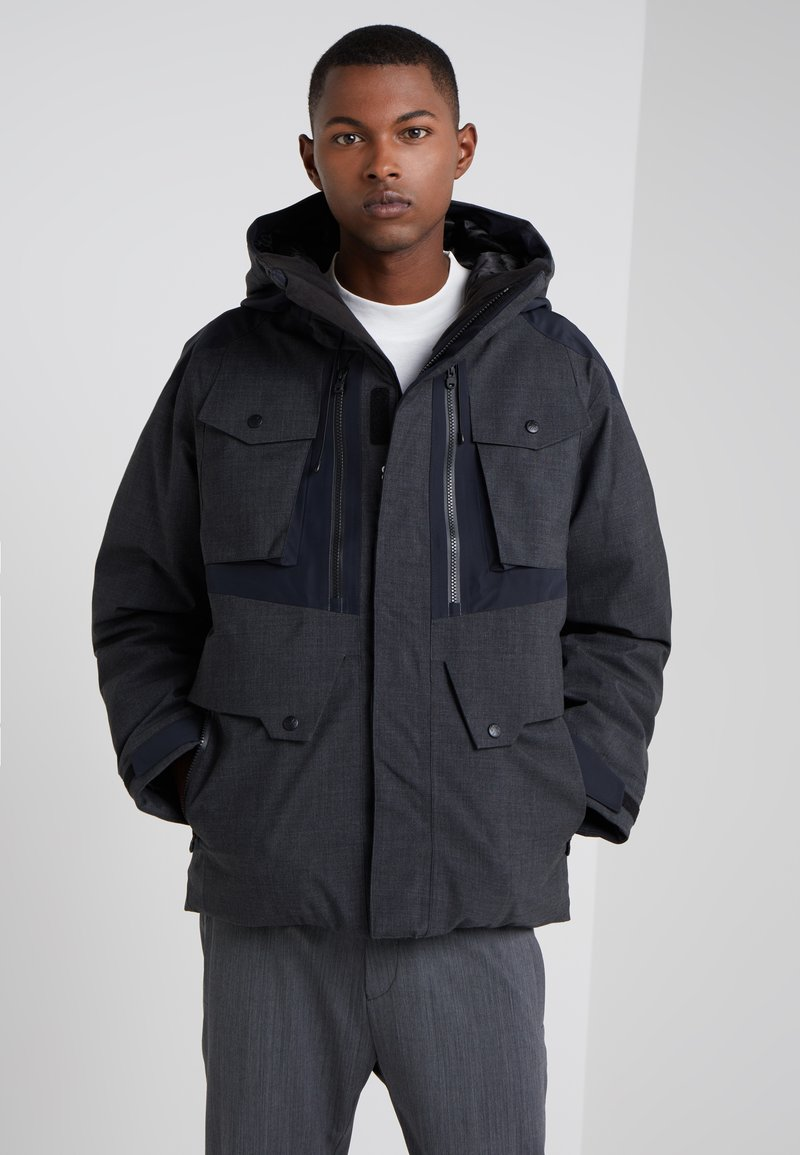 White Mountaineering - GORE JACKET - Kurtka puchowa - charcoal