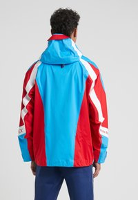 White Mountaineering - GORE TEX CONTRASTED  - Giacca outdoor - blue/red - 2