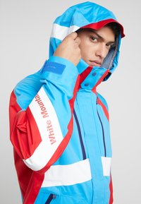 White Mountaineering - GORE TEX CONTRASTED  - Giacca outdoor - blue/red - 3