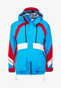 White Mountaineering - GORE TEX CONTRASTED  - Giacca outdoor - blue/red - 4