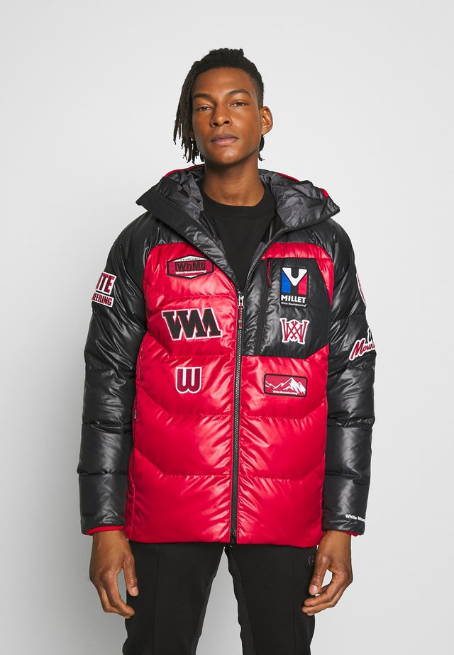 MILLET X WM JACKET - Untuvatakki - red