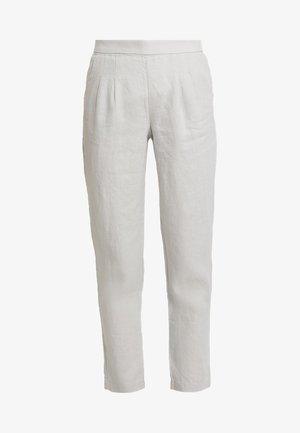 MAISON TROUSER - Pantalones - grey