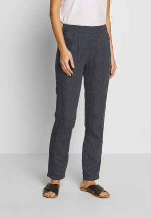 MAISON TROUSER - Trousers - navy