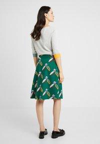 White Stuff - BLOSSOMSEED REVERSIBLE SKIRT - A-line skirt - green - 2