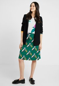White Stuff - BLOSSOMSEED REVERSIBLE SKIRT - A-line skirt - green - 1