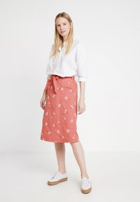 White Stuff - SCENTFUL SKIRT - A-line skirt - washed pink - 1