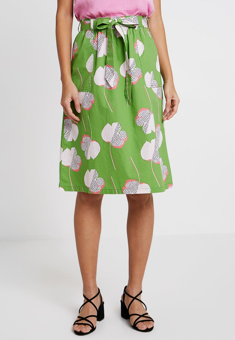 White Stuff - SUNNY COAST SKIRT - A-line skirt - palm