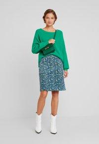 White Stuff - CLOCKTOWER HIGH TIDE SKIRT - Pencil skirt - sea - 1