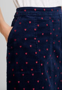 White Stuff - CLOCKTOWER EMBROIDED SKIRT - A-line skjørt - navy - 4