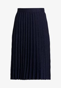 White Stuff - STEM SHIMMER SKIRT - Jupe trapèze - navy - 3