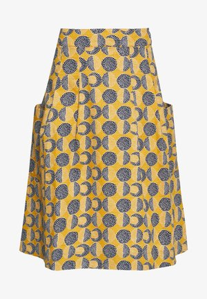 CUMULUS CLOUD SKIRT - A-line skirt - yellow