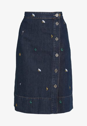TINT SKIRT - A-line skjørt - denim