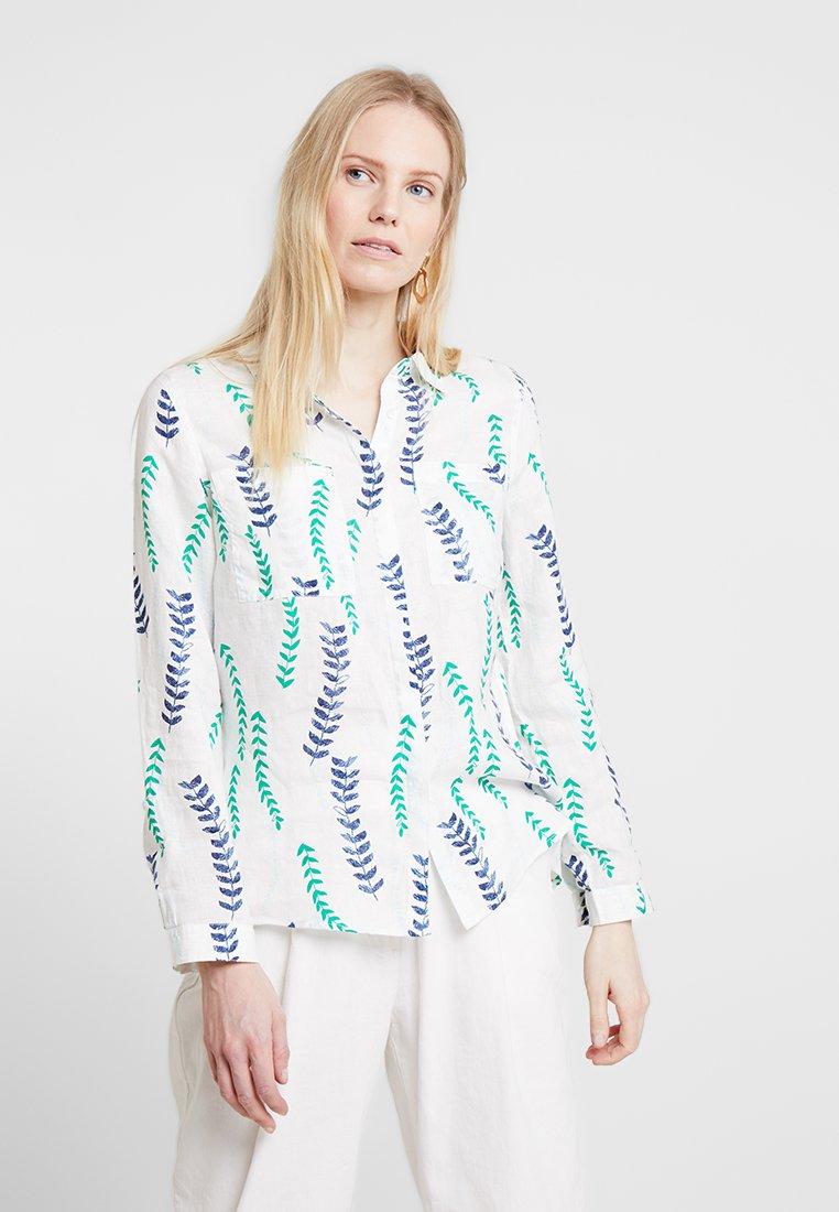White Stuff - SPRIG - Button-down blouse -  green