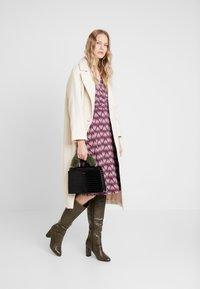 White Stuff - FLORENCE WRAP DRESS LONGER - Vestito estivo - rosy - 1