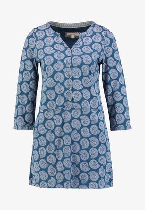 FOSSIL PRINT TUNIC - Long sleeved top - sea