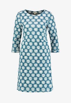 FORESTR DRESS - Jersey dress - blue