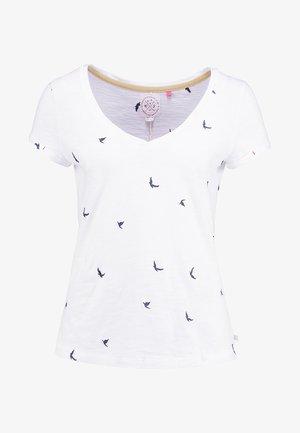 GOOD VIBES TEE - T-shirt print - white