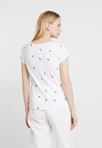 White Stuff - GOOD VIBES TEE - T-shirt print - white - 2