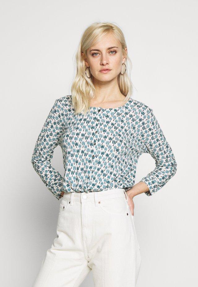 TIE HEM - Pitkähihainen paita - blue