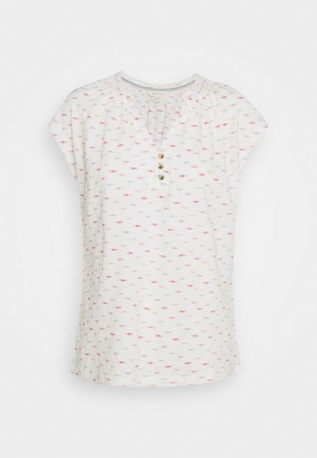 HOLIDAY TEE - T-shirt med print - white