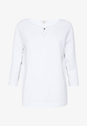 ARTIST EMBROIDERED TEE - Blouse - white