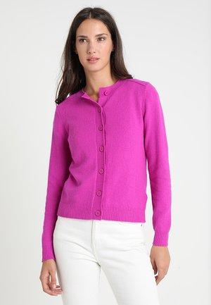 ROSALINE BUTTON CARDI - Cardigan - purple