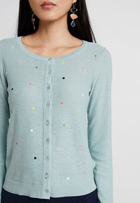 White Stuff - SPRING SPOT CARDI - Cardigan - duck egg - 4