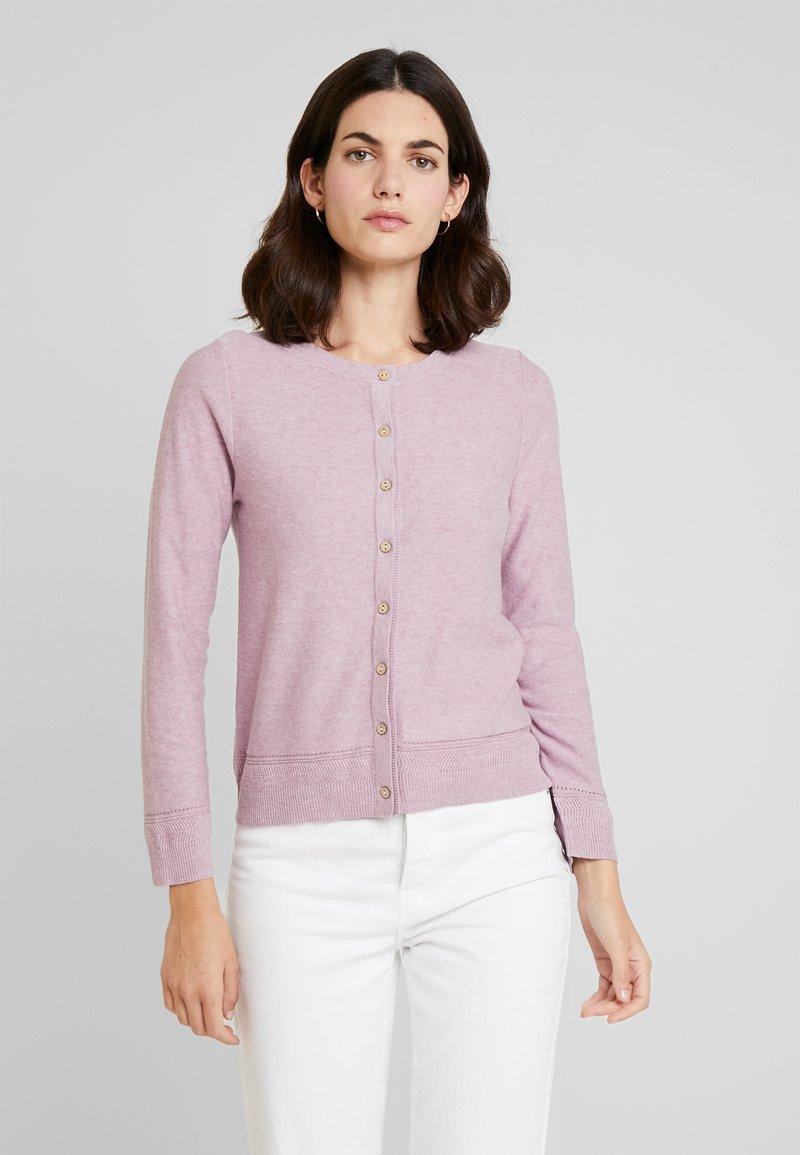 White Stuff - HARBOUR BUTTON CARDI - Cardigan - pink