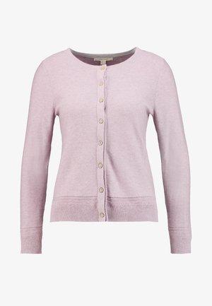 HARBOUR BUTTON CARDI - Cardigan - pink