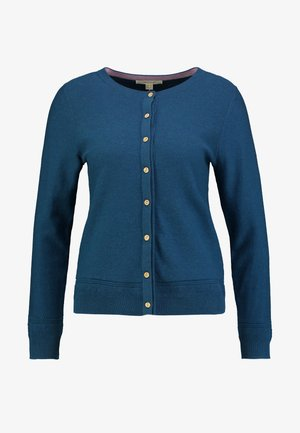HARBOUR BUTTON CARDI - Cardigan - dark blue