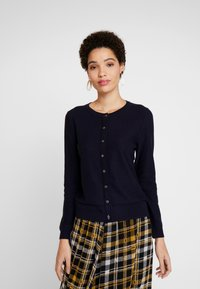 White Stuff - HARBOUR BUTTON CARDI - Cardigan - navy - 0