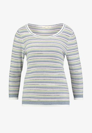 MISTY LAKE STRIPE JUMPER - Strikkegenser - green