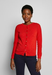 White Stuff - SKETCH CARDI - Cardigan - red - 0
