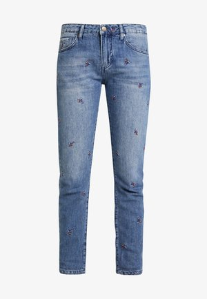 FIESTA LEAF BOYFRIEND - Jeans baggy - blue denim