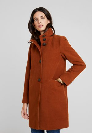 KENLEY MOLESKIN - Krátký kabát - ochre