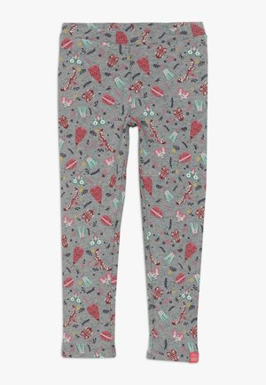 LITTLE LEGS - Leggings - grey/multi-coloured
