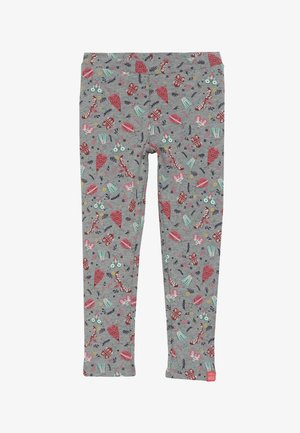 LITTLE LEGS - Leggings - Hosen - grey/multi-coloured