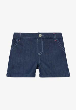 EMBROIDERED SPOT  - Denim shorts - denim