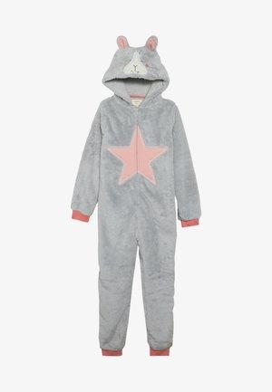 HOPPY DAYS ONESIE - Jumpsuit - light grey