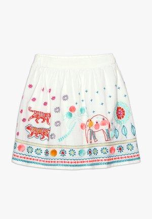 GATEWAY SKIRT - A-line skirt - jasmin white