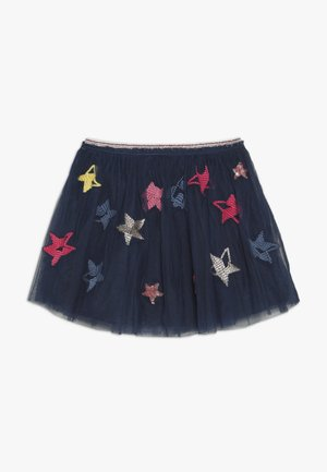 PARTY SKIRT - Minihame - beetle blue