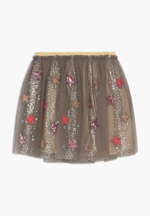 SHOW TIME  - A-line skirt - metallic