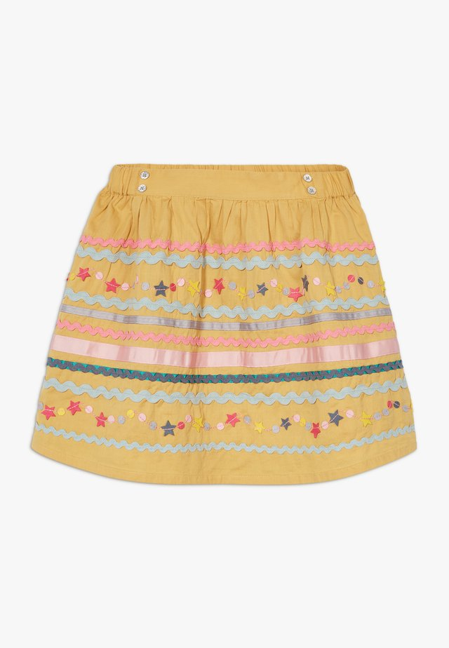 RAMBLER SKIRT - A-line skirt - yolk yellow multi