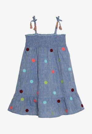 JAIPUR DRESS - Farkkumekko - cham blue
