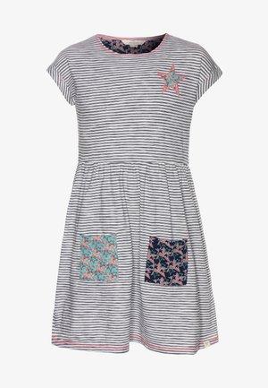 STRIPE & STARS DRESS - Žerzejové šaty - multicolor