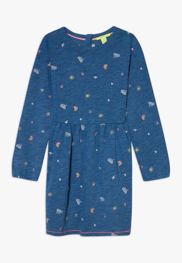 POP SPOT DRESS - Žerzejové šaty - blue